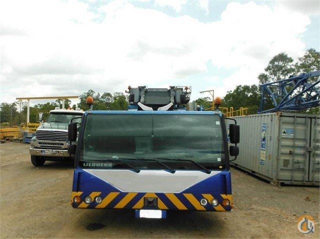 2010 LIEBHERR LTM 1250-6.1 ALL TERRAIN CRANE Crane for Sale on CraneNetwork.com