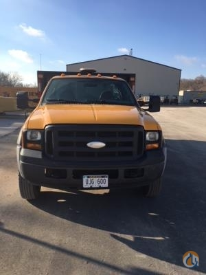2006 Ford F-550 Crane for Sale in Omaha Nebraska on CraneNetwork.com