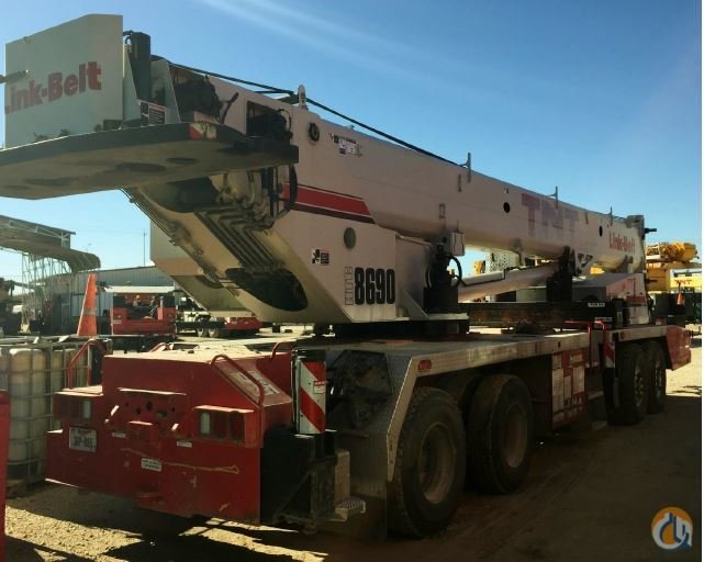 2010 Link-Belt HTC-8690 Crane for Sale in Fort Worth Texas on CraneNetworkcom