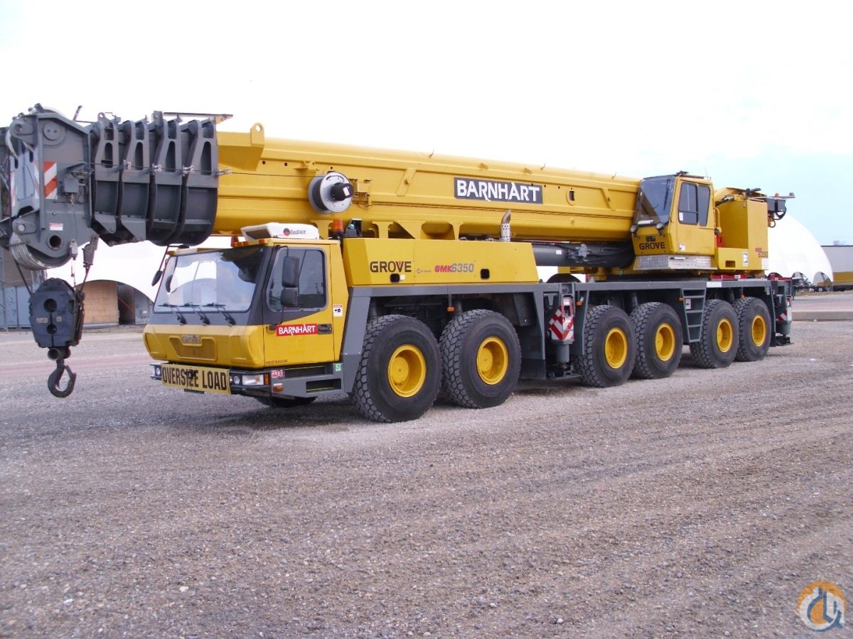 Sold 2006 GROVE GMK6350 Crane for  in Memphis Tennessee on CraneNetworkcom