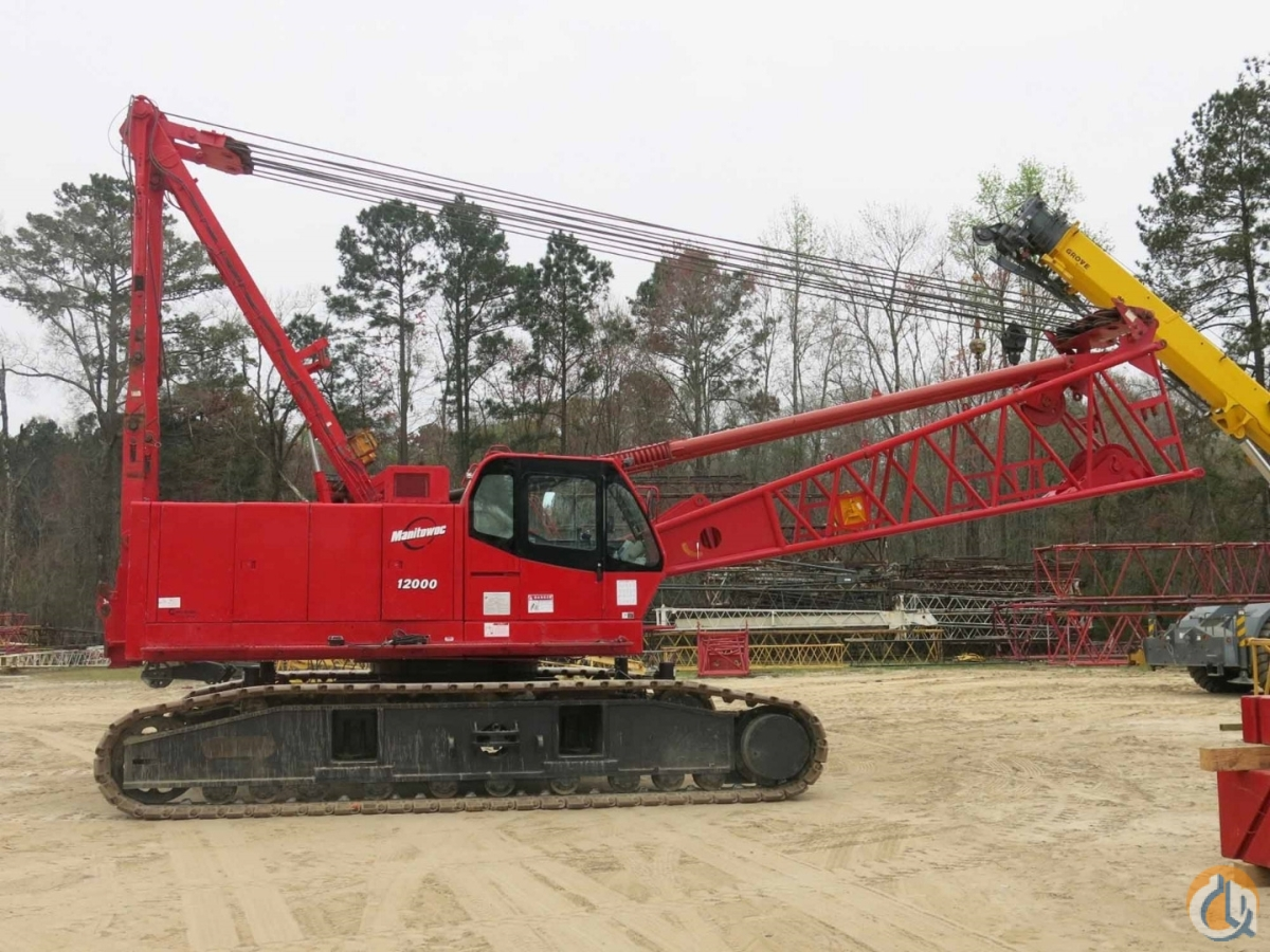2008 MANITOWOC 12000 Crane for Sale or Rent in Savannah Georgia on CraneNetwork.com
