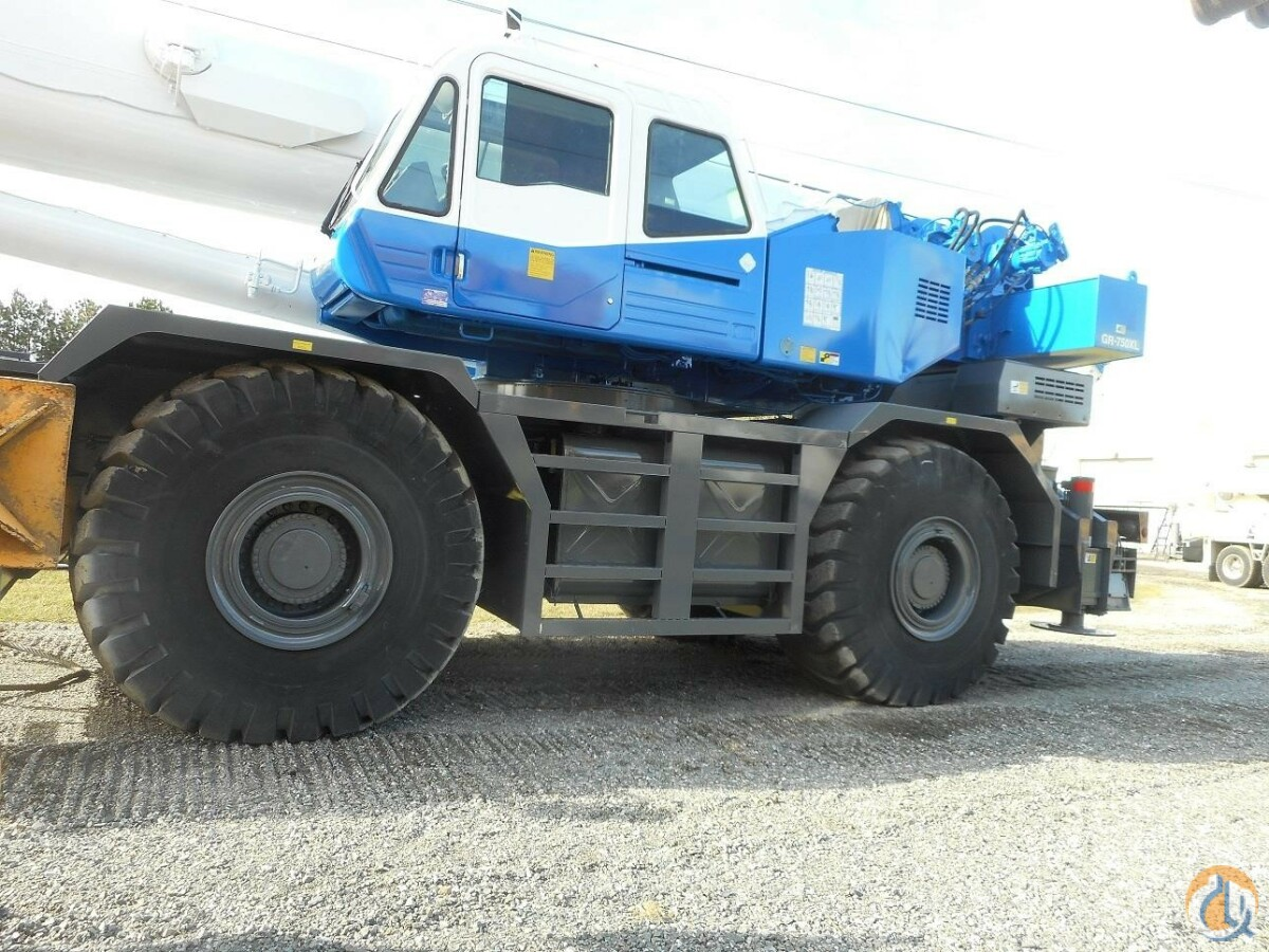 2013 TADANO GR-750XL Crane for Sale in Richmond Virginia on CraneNetwork.com