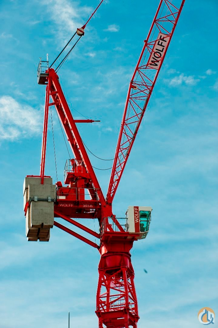 2017 WOLFFKRAN 355B Crane for Sale on CraneNetworkcom