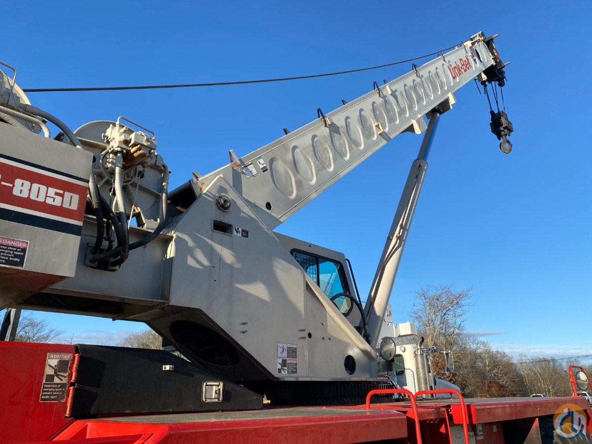 2002 Link-Belt RTC-8050 II Crane for Sale in Oxford Massachusetts on CraneNetwork.com
