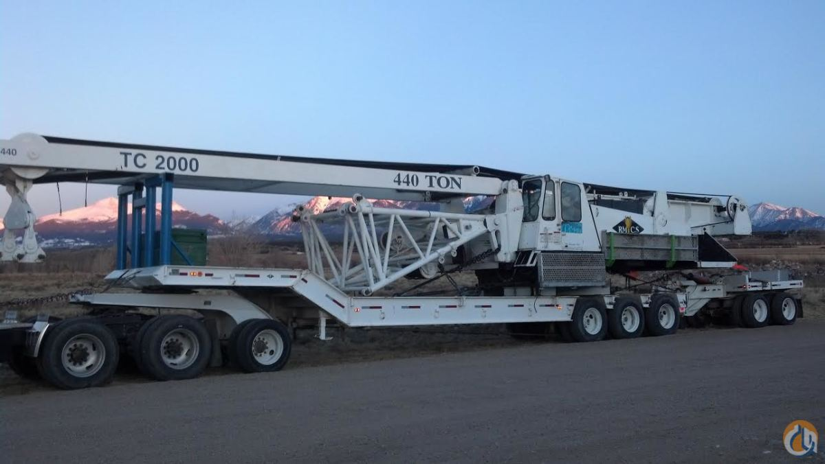 DEMAG TC 2000 FOR SALE OR RENT 45000-Month Crane for Sale or Rent in Sterling Colorado on CraneNetworkcom