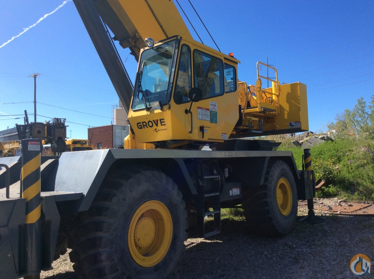 2013 Grove RT 600E Crane for Sale in Cleveland Ohio on CraneNetworkcom