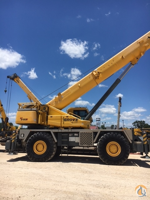 2011 Grove RT9150E Crane for Sale in Houston Texas on CraneNetworkcom