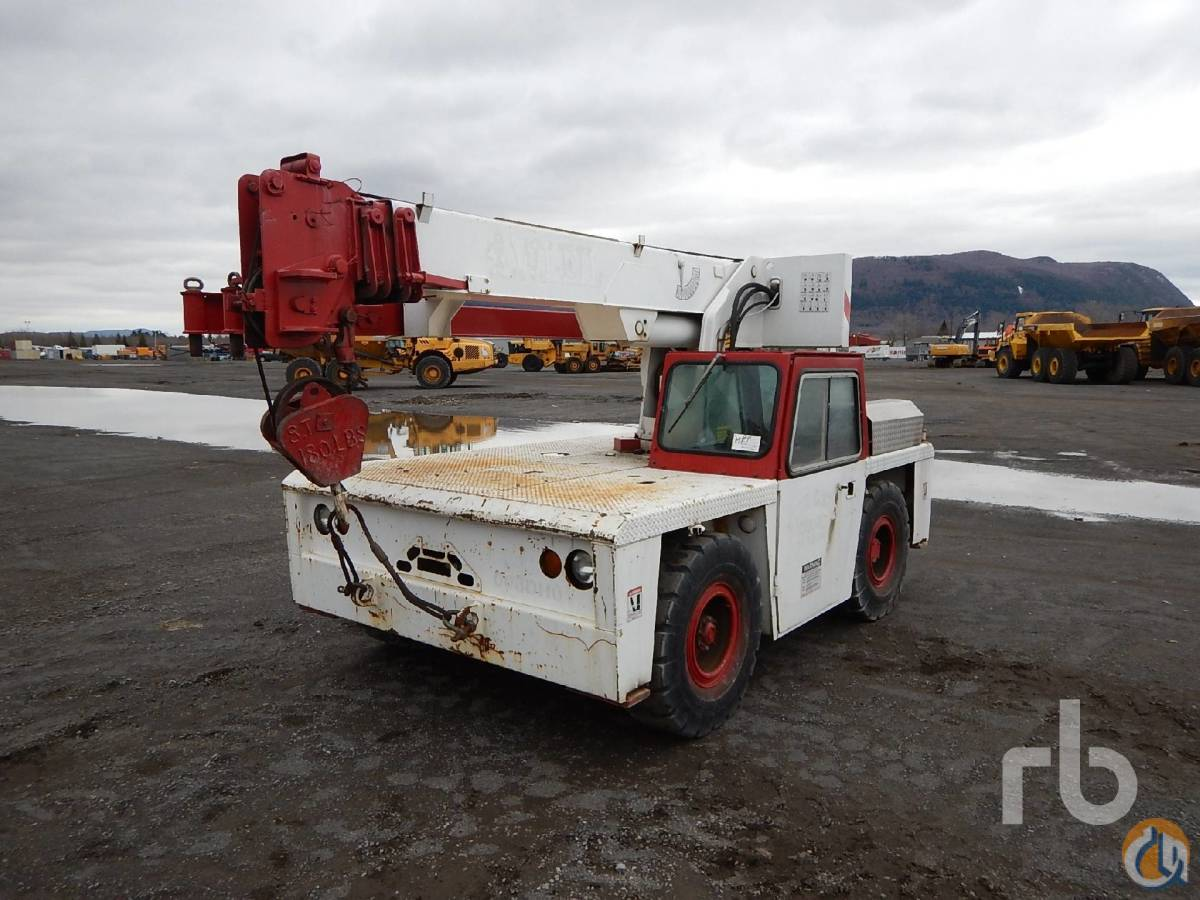 Sold 1986 GROVE AP308 Carry Deck Crane Crane for  in Montreal Qubec on CraneNetworkcom