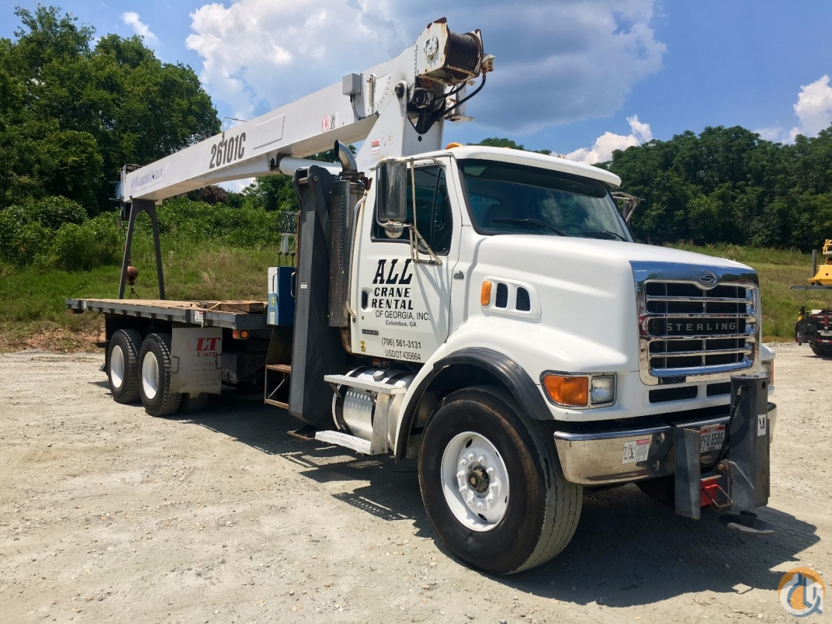 2006 MANITEX 26101 C Crane for Sale in Phenix City Alabama on CraneNetwork.com
