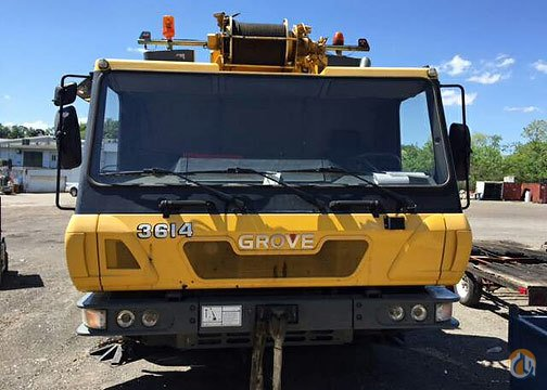 3614 - Grove GMK3055 Crane for Sale in Baltimore Maryland on CraneNetwork.com
