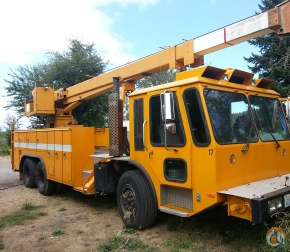 1986 Simon RO-Federal Truck Chassis PJ400 12.5 Ton Boom Truck Crane CranesList ID 248 Crane for Sale on CraneNetwork.com