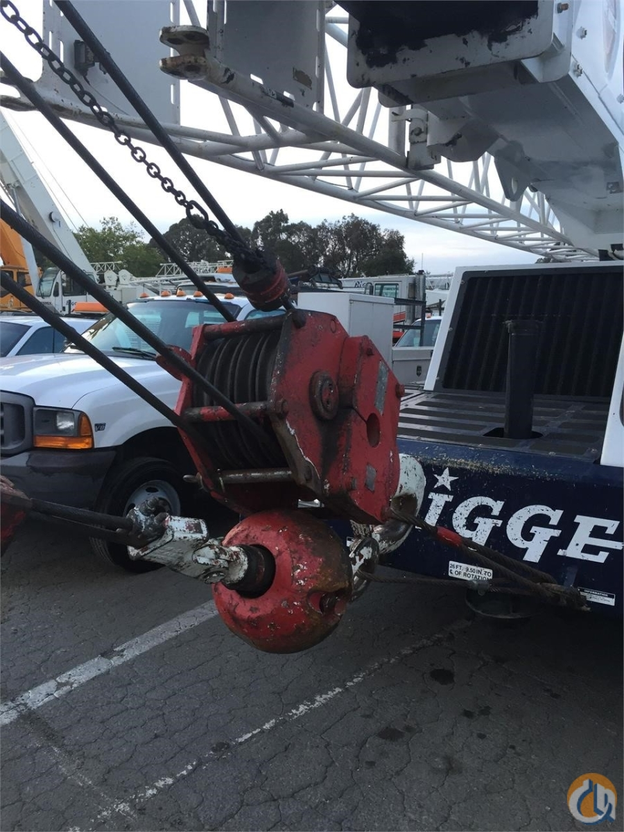 2005 LINK-BELT HTC-8675 Crane for Sale in San Leandro California on CraneNetwork.com