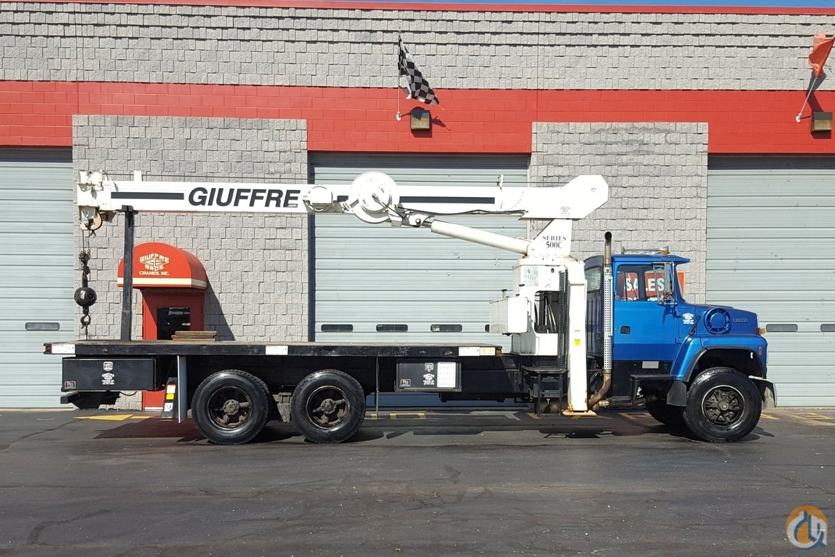 Sold USED 15 TON NATIONAL ON FORD TRUCK Crane for  in Milwaukee Wisconsin on CraneNetwork.com