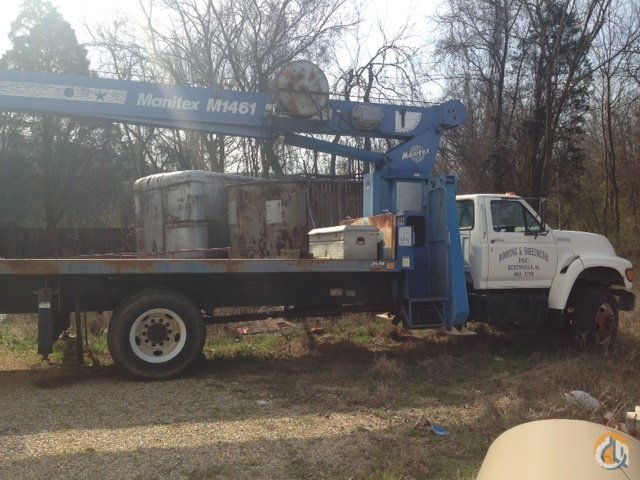 1997 Manitex 1461 Crane for Sale on CraneNetwork.com