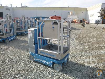 2012 GENIE GR12 Crane for Sale in Dunnigan California on CraneNetwork.com