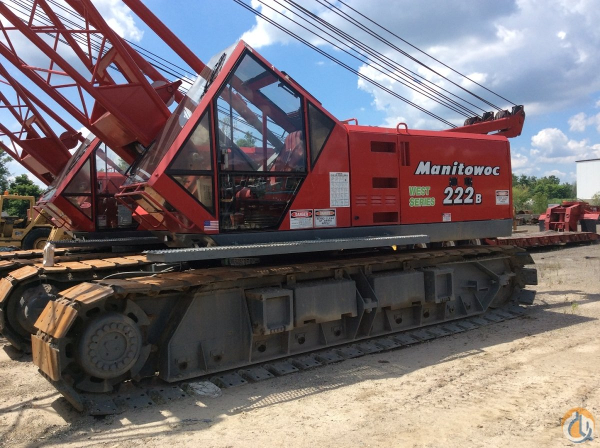 1999 Manitowoc 222 Series B, 100 Ton Crawler Crane Crane for Sale in on
