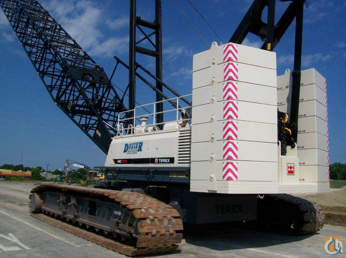 2011 TEREX HC-275 Crane for Sale or Rent in Savannah Georgia on CraneNetworkcom