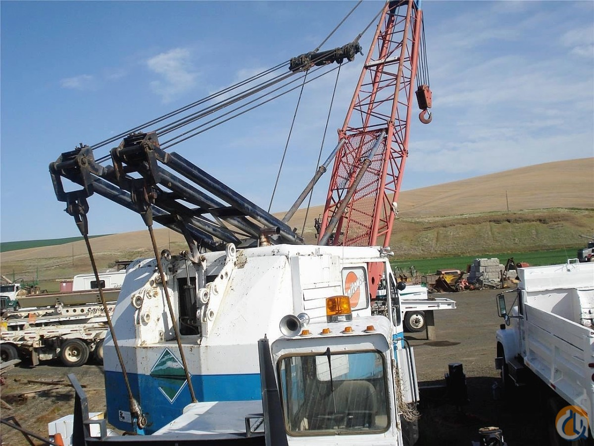 Manitowoc 2900T Truck Mounted Lattice Boom Cranes Crane for Sale 1965 MANITOWOC 2900T in  Washington  United States 184347 CraneNetwork