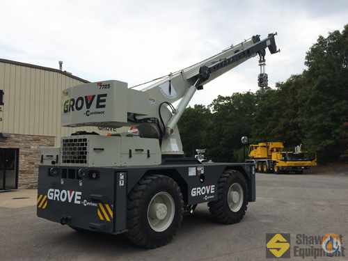 2014 Grove YB7725 Crane for Sale in Manchester Connecticut on CraneNetwork.com