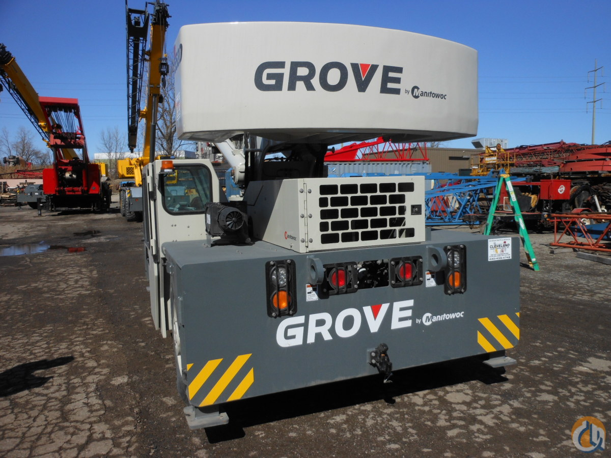 Sold New 2014 Grove YB 5520, 20 Ton Carry Deck Crane for in