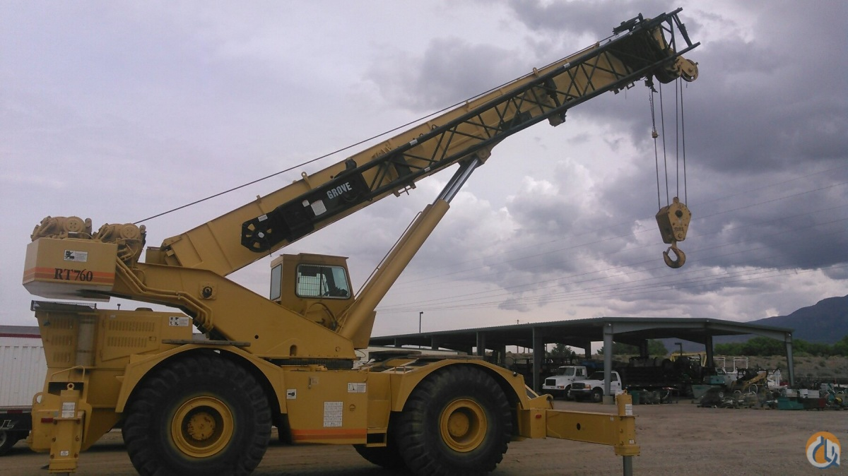 1995 GROVE RT760 Crane for Sale in Albuquerque New Mexico on CraneNetwork.com