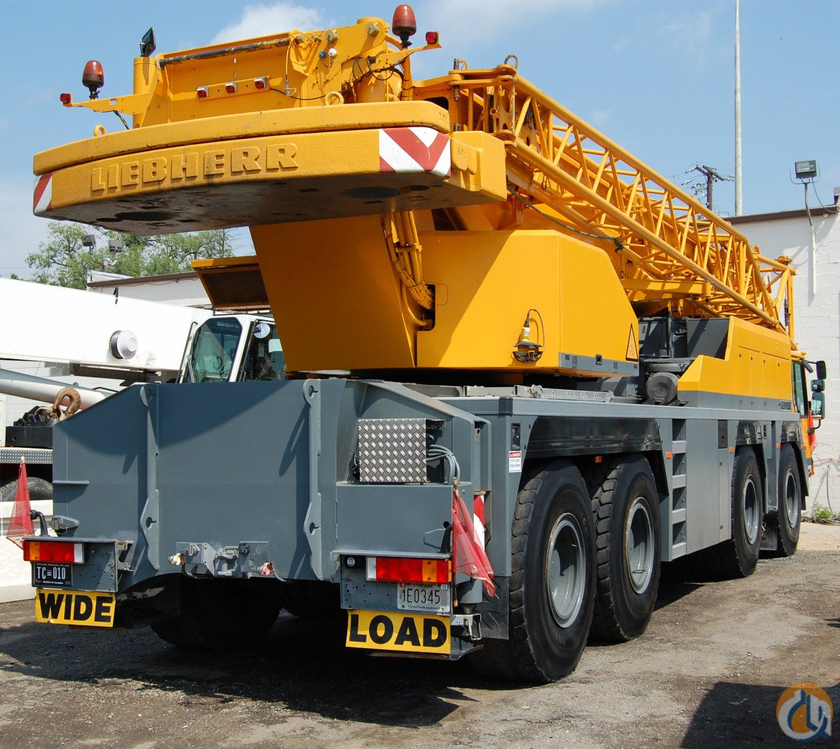 LIEBHERR LTM-1080L LOW HOURS LOW MILES Crane for Sale in Stamford Connecticut on CraneNetwork.com