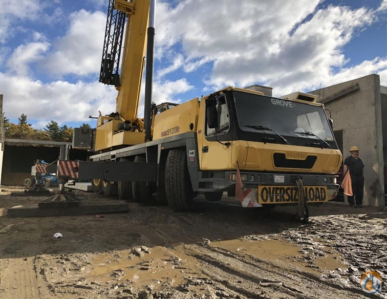 Grove GMK5120B Crane for Sale in Duluth Georgia on CraneNetwork.com