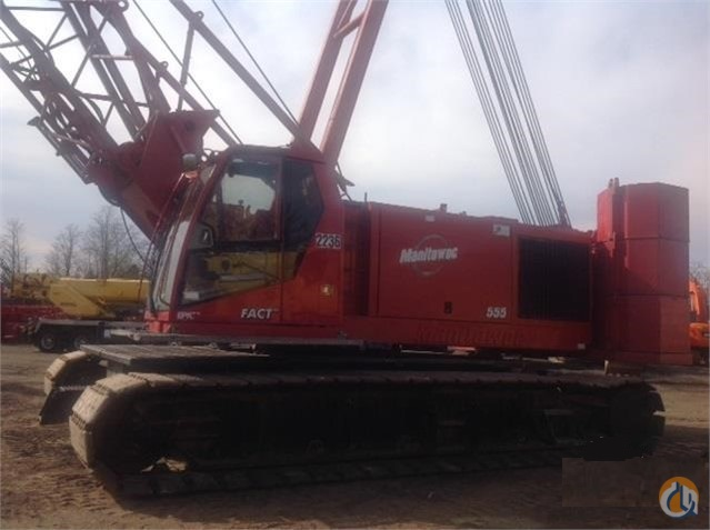 2002 Manitowoc 555 Crane for Sale in Piscataway Township New Jersey on CraneNetwork.com