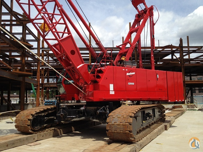 2008 Manitowoc 12000 Crane for Sale in Bridgeview Illinois on CraneNetworkcom