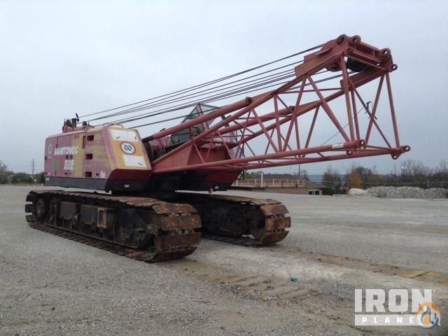 Sold 1998 Manitowoc 222 Lattice-Boom Crawler Crane Crane for  in OFallon Missouri on CraneNetworkcom