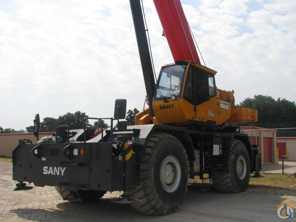 2013 SANY SRC885 Crane for Sale in Lewisville Texas on CraneNetwork.com