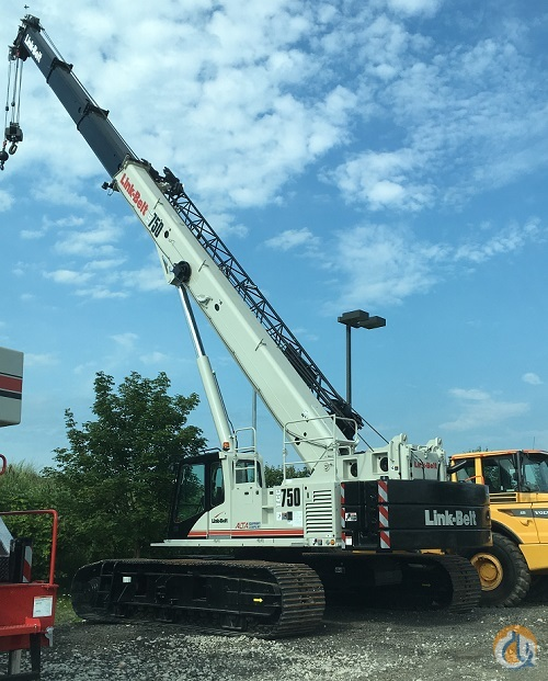 2017 Link-Belt TCC 750 IN STOCK Crane for Sale in Lyon Charter Township Michigan on CraneNetwork.com