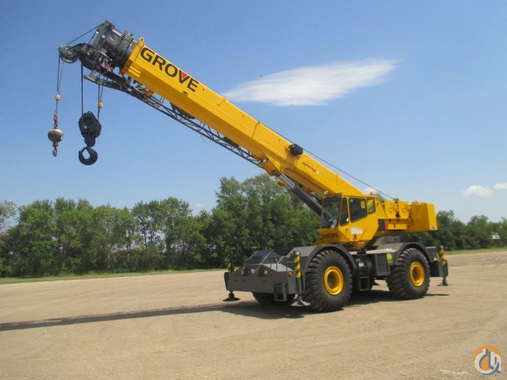 Sold 2006 GROVE RT760E Crane for in Fullerton North Dakota on  CraneNetwork.com