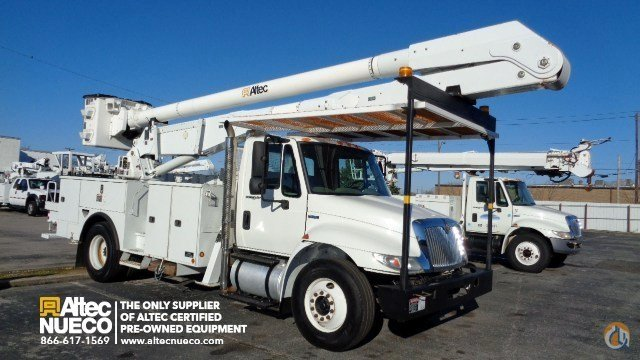2009 ALTEC AA755-P Crane for Sale in Birmingham Alabama on CraneNetworkcom