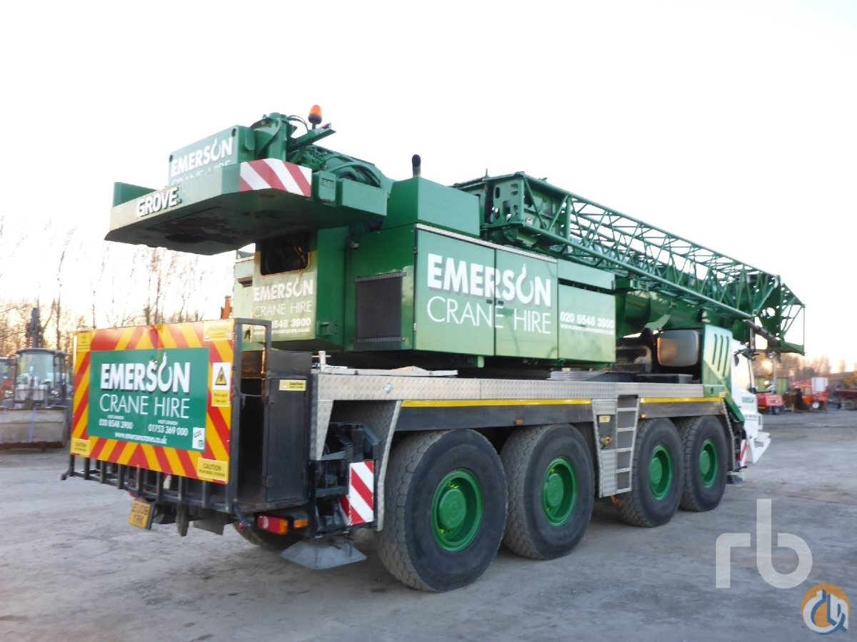 Sold 2008 GROVE GMK4100L 8x8x8 All Terrain Crane Crane for  in Moerdijk North Brabant on CraneNetworkcom