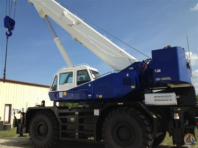 2013 TADANO GR-1000XL-2 Crane for Sale in Houston Texas on CraneNetwork.com