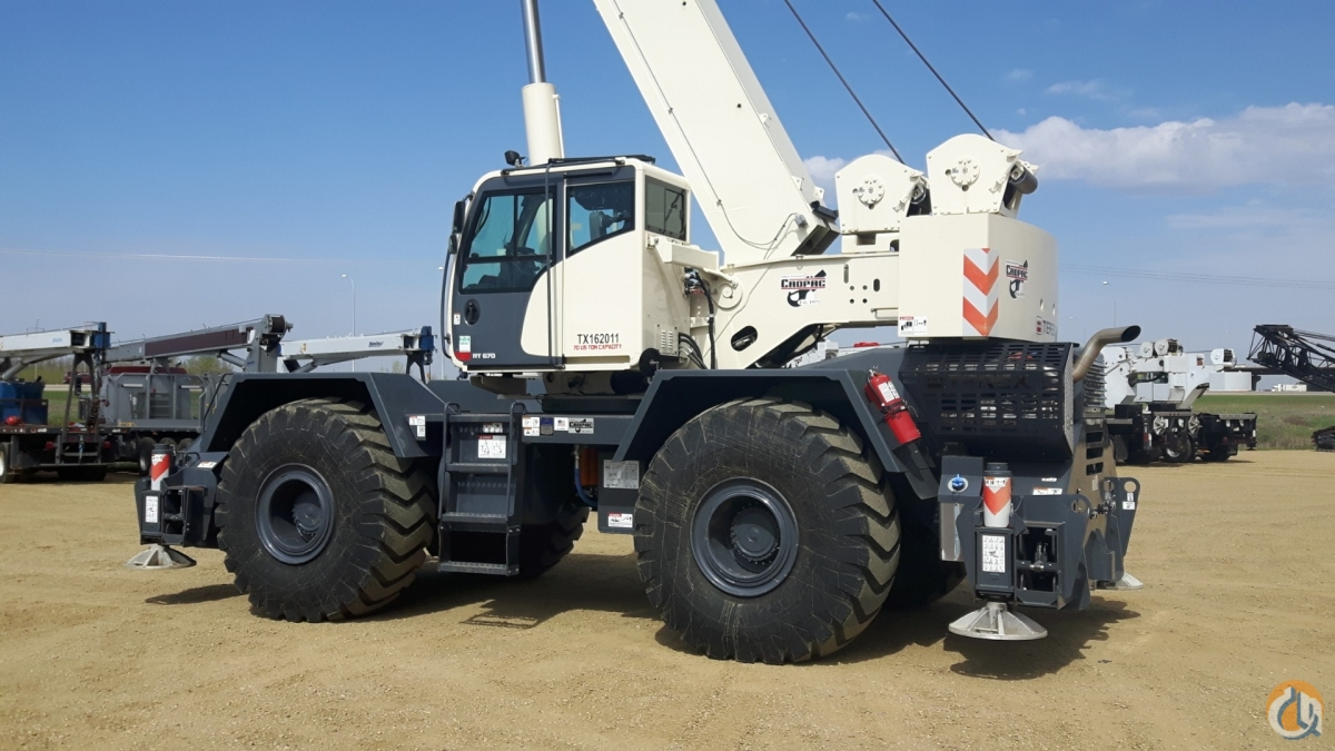 2014 TEREX RT670 Crane for Sale or Rent in Oakville Ontario on CraneNetwork.com