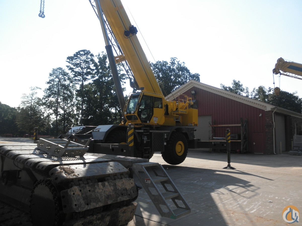 2014 GROVE RT890E Crane for Sale in Union City Georgia on CraneNetwork.com