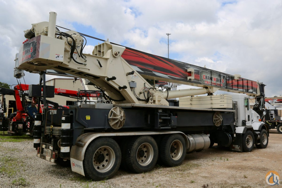 Used 2016 Terex Crossover 8000 80-ton boom truck for sale or rent on Kenworth T800 chassis Crane for Sale or Rent in Houston Texas on CraneNetwork.com