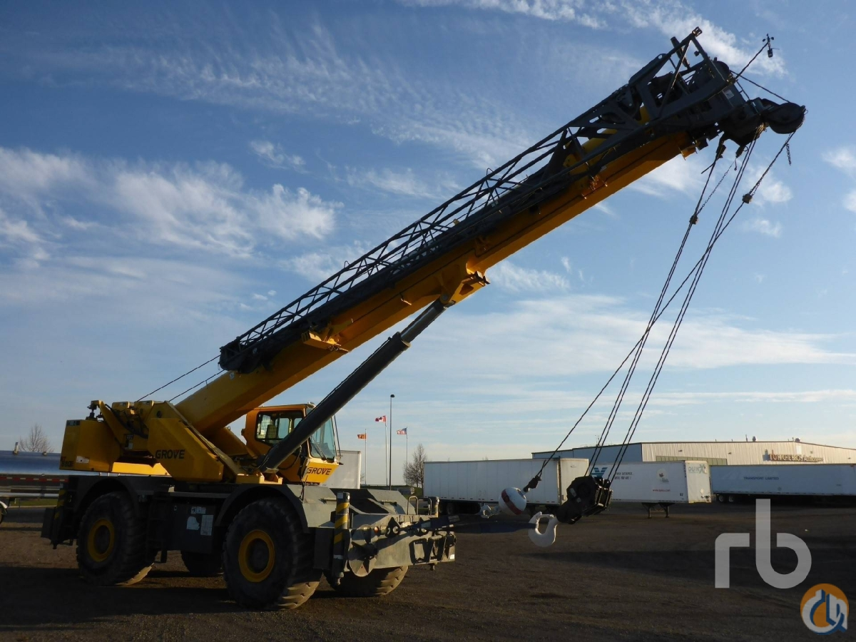 Sold 2008 GROVE RT880E 80 Ton 4x4x4 Rough Terrain Crane Crane for  in Toronto Ontario on CraneNetworkcom