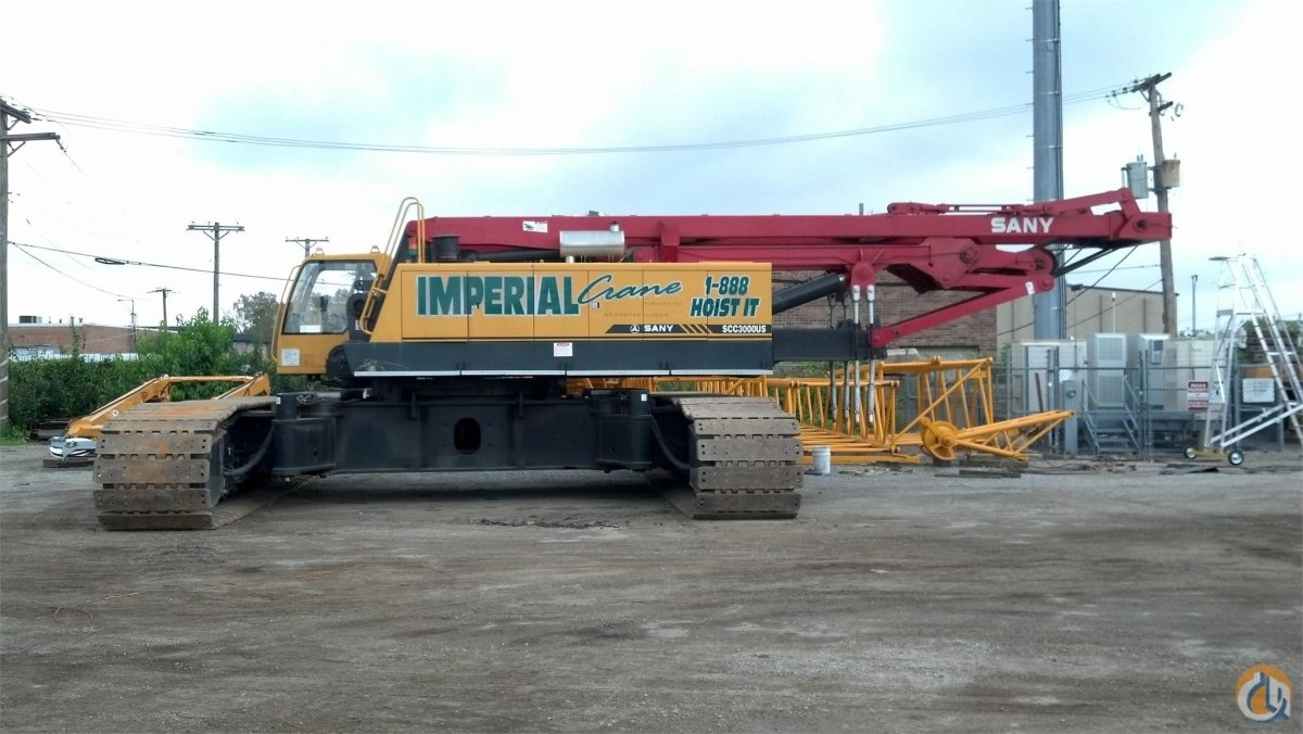2009 SANY SCC3000 Crane for Sale in Griffith Indiana on CraneNetwork.com