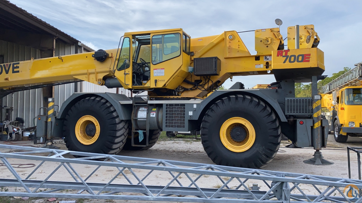 2007 Grove RT760E 60 TON Hyd Removable cwt package Crane for Sale in Fort Pierce Florida on CraneNetwork.com