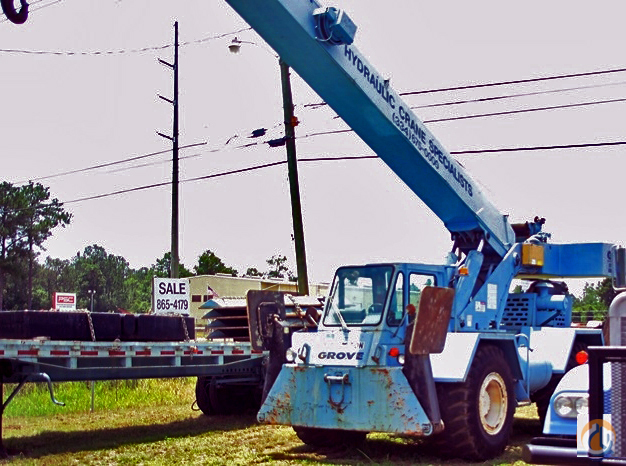 Grove RT58C Crane for Sale or Rent in Saraland Alabama on CraneNetworkcom