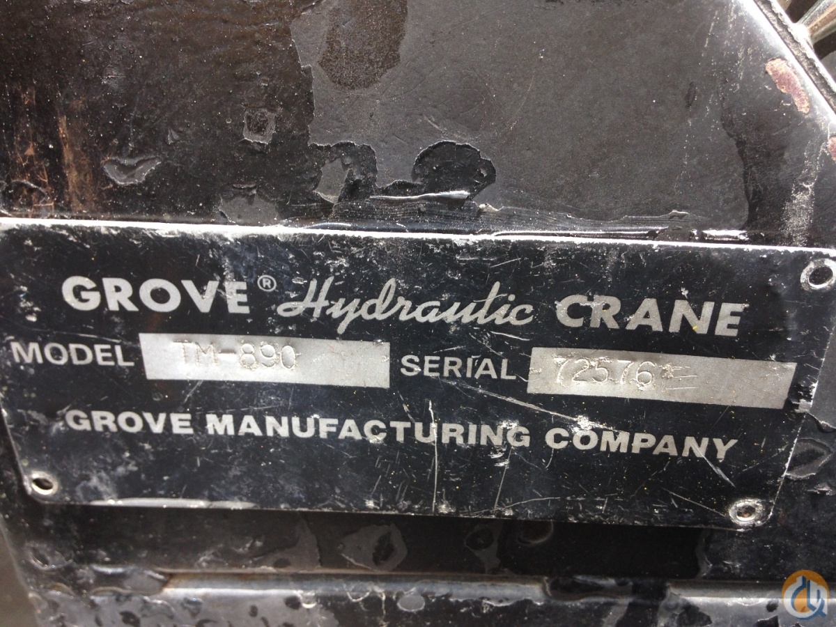 1989 GROVE TM890 Crane for Sale on CraneNetwork.com