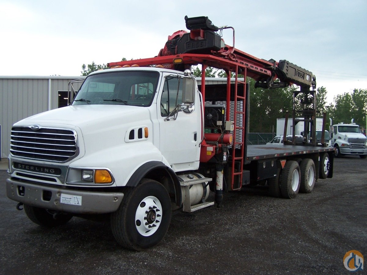 2005 Sterling LT9500  with the Fassi F390SE Crane for Sale on CraneNetwork.com