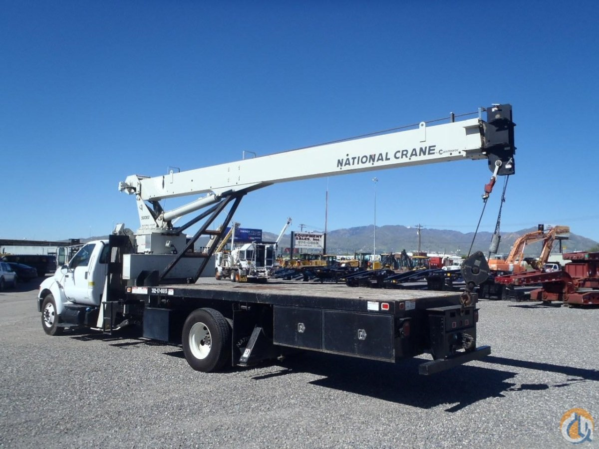 National 57100 Boom Truck Cranes Crane for Sale National 571E2 Mounted on a 2011 Ford F750 in Salt Lake City  Utah  United States 217468 CraneNetwork