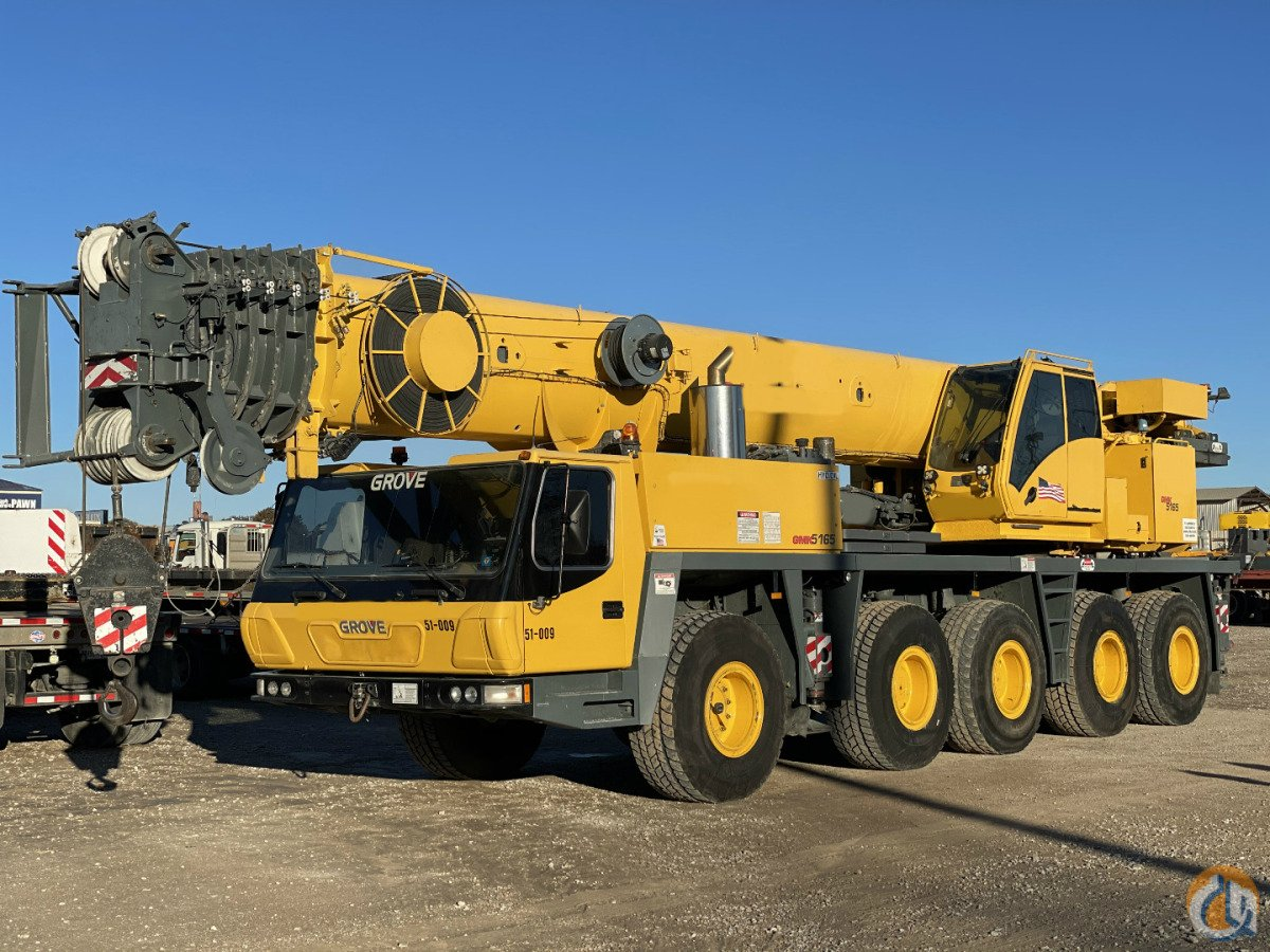 2005 GROVE GMK5165 ALL TERRAIN CRANE Crane for Sale in Dallas Texas on CraneNetwork.com