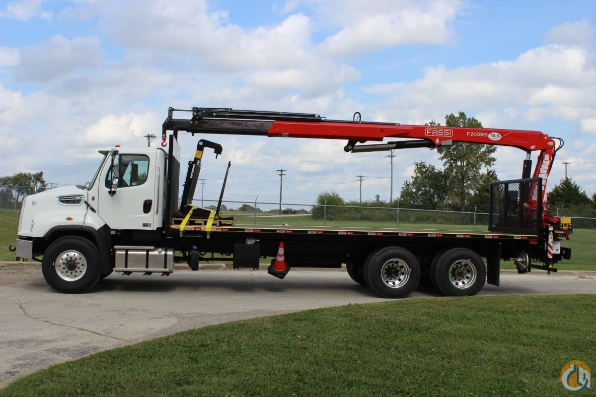 New Fassi F195AS  F200BS.23 crane installed on 2018 Freightliner 114SD chassis Crane for Sale in Orlando Florida on CraneNetwork.com