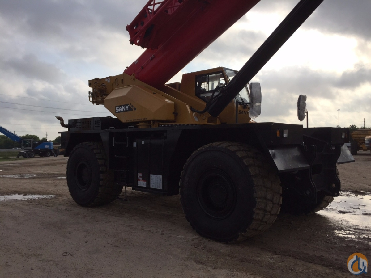 New 130 Ton SANY Crane for Sale or Rent in Houston Texas on CraneNetwork.com