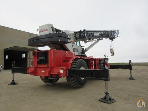 2013 Link-Belt RTC-8080 SII Crane for Sale or Rent in Fullerton North Dakota on CraneNetwork.com